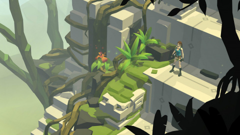 Jaquette de Lara Croft GO : Expédition tactile en milieu tropical