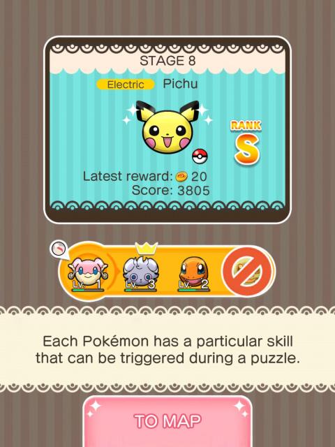 Pokémon Shuffle Mobile : La fusion tactile Puzzle-RPG & Pokémon