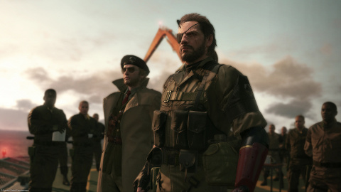 Metal Gear Solid V : The Phantom Pain, un trailer de lancement et un adieu pour Kojima