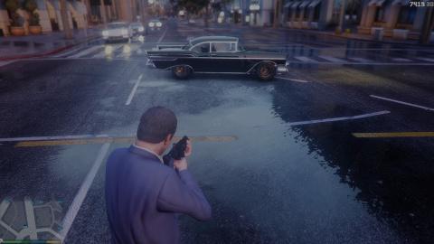 GTA V accueille son nouveau mod photo-réaliste en vidéo et en image