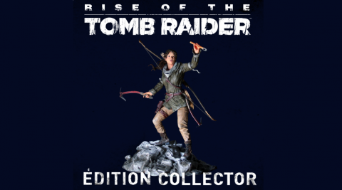 Jaquette de Rise of the Tomb Raider : La collector à 139,99 euros en Europe