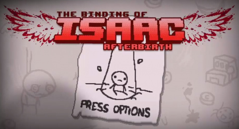 Jaquette de Binding of Isaac Afterbirth - Du gameplay présenté à la PAX 2015