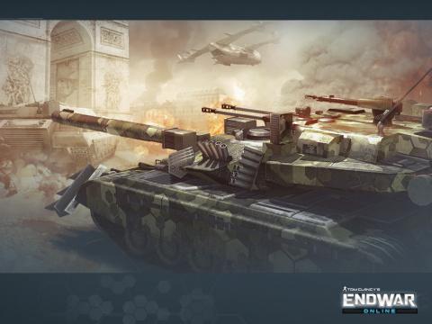 Tom Clancy's EndWar Online entre en Bêta fermée