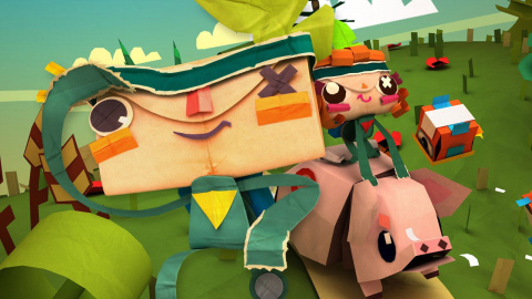 Jaquette de Demain à 17h, on joue en direct à Tearaway Unfolded