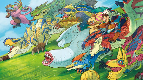 Jaquette de Monster Hunter Stories introduit le combat au tour par tour