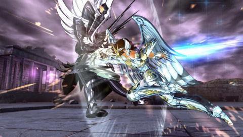 Saint Seiya Soldiers' Soul : Seiya, Shiryû, Hyôga, et Shun refont vivre la légende en images