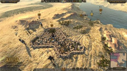 Total War : Attila présente son pack Les Empires des Sables