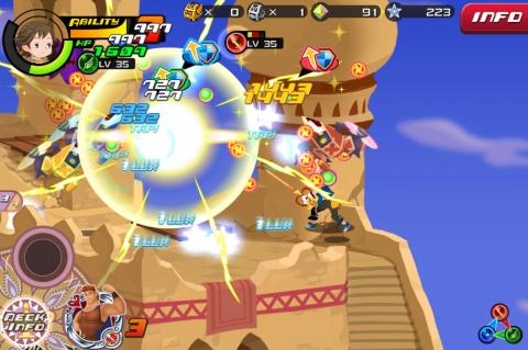 Kingdom Hearts Unchained χ : Nos impressions sur la version japonaise