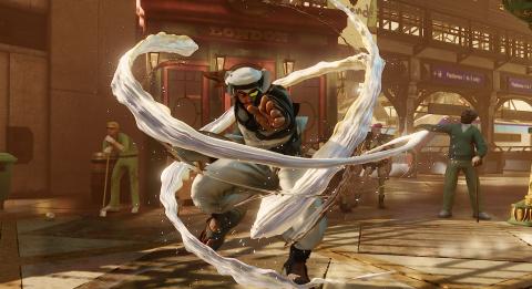 Street Fighter V : Rashid se dévoile un peu plus