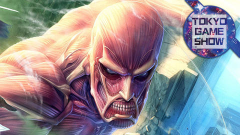 Jaquette de Attack on Titan, la Terre tremble enfin : TGS 2015