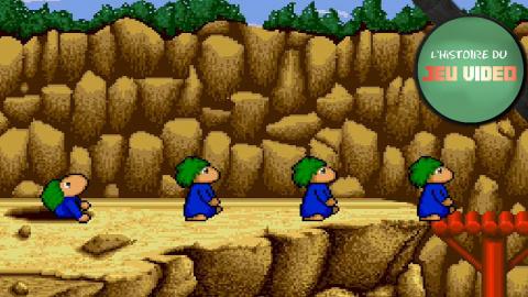 L'histoire du jeu vidéo - Les Lemmings réinventent le jeu de réflexion