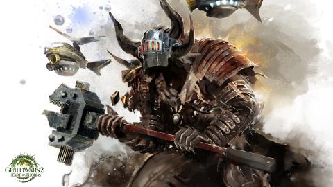 Guild Wars 2 dévoile son Mécatronicien la spécialisation d'élite de l'ingénieur