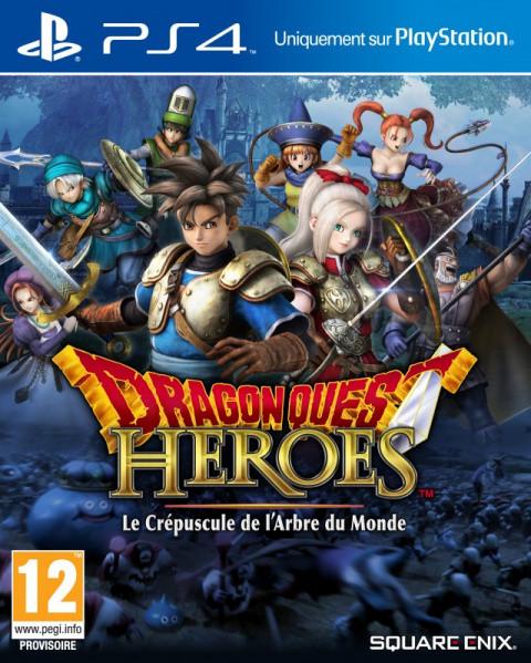 Dragon Quest Heroes : Le Crépuscule de l'Arbre du Monde sur PS4