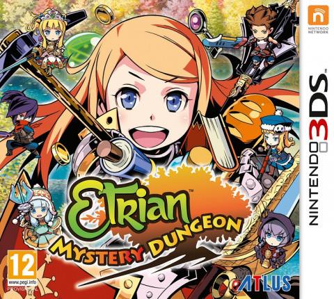 Etrian Mystery Dungeon sur 3DS