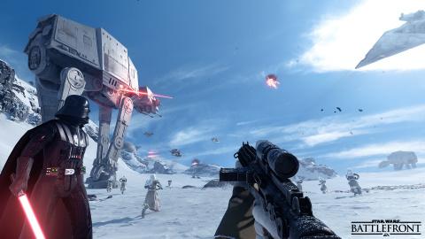 Star Wars : Battlefront, 10 minutes de gameplay sur le mode Attaque des Marcheurs du côté des Rebelles