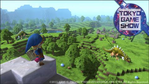 Jaquette de Dragon Quest Builders : Un RPG à la sauce Minecraft tout mimi - TGS