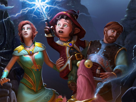 The Book of Unwritten Tales 2 sur 360