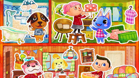 Jaquette de Animal Crossing - Happy Home Designer : Des envies déco ? sur 3DS