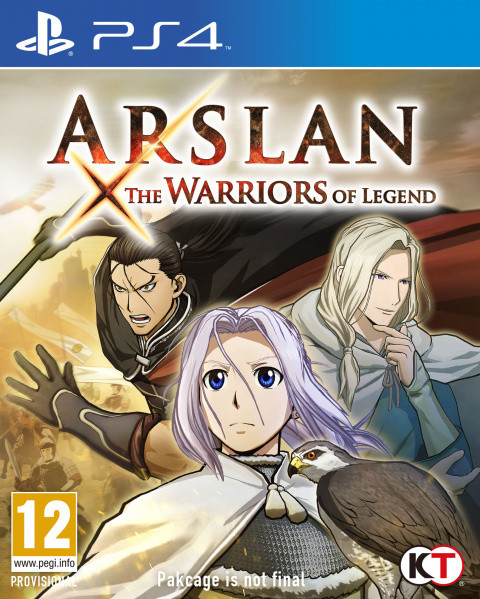 Arslan : The Warriors of Legend sur PS4