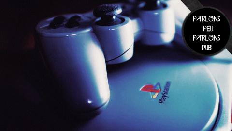 Parlons Peu Parlons Pub - La première Playstation