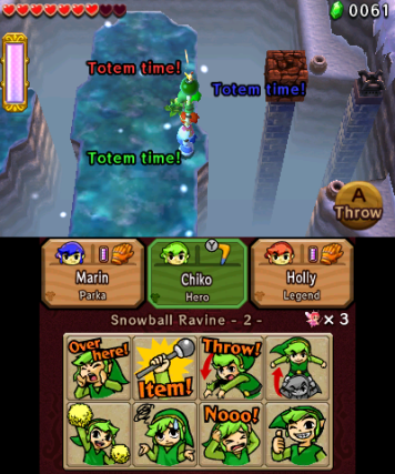 The Legend of Zelda Tri Force Heroes : L'union fait la force