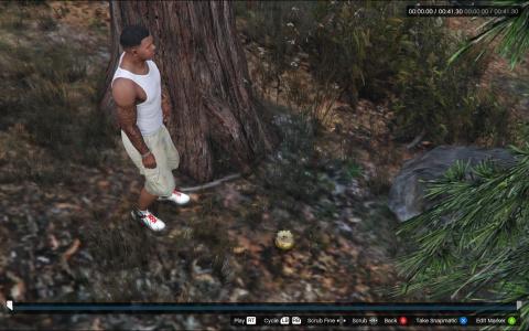 GTA 5 : Le cactus doré qui transforme en Big Foot