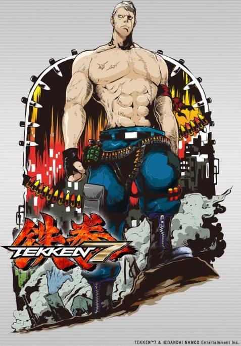 De sublimes artworks pour les persos de Tekken 7