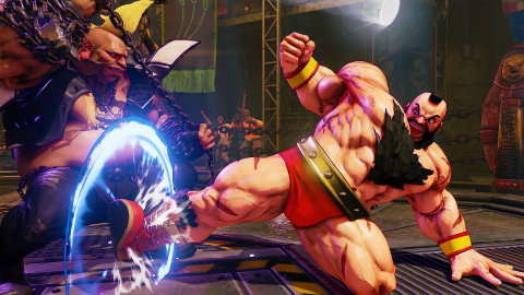 Street Fighter 5 : Zangief débarque à grands coups de taloches