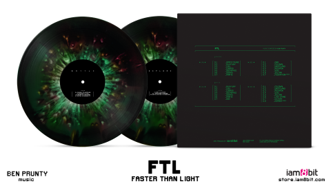 Jaquette de La BO FTL : Faster than Light disponible en vinyle