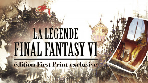 Jaquette de La Légende Final Fantasy VI chez Third Editions