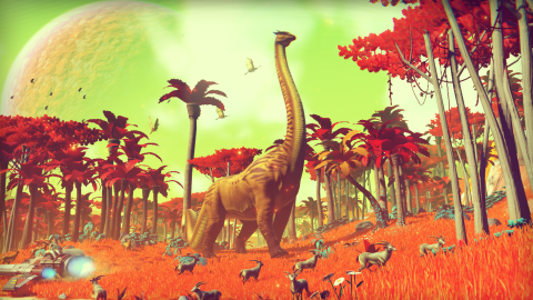 Jaquette de No Man's Sky montre encore du gameplay au New Yorker Festival