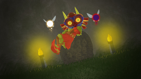 Jaquette de Hyrule Warriors Legends : Skull Kid fera partie des personnages jouables