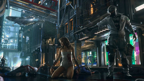 Jaquette de Cyberpunk 2077 sera encore plus imposant que The Witcher 3 d'après CD Projekt