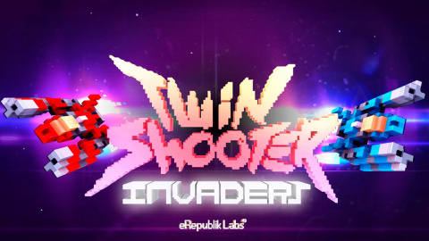 Jaquette de Twin Shooters : Invaders demande de la coordination