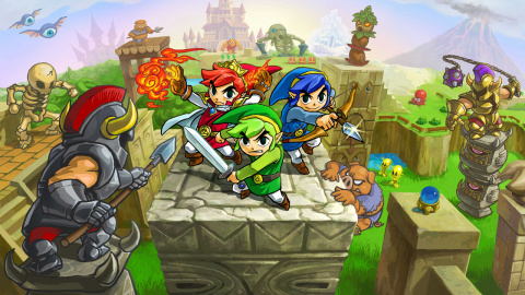Zelda Tri Force Heroes : Nos 4 Gaming Live en multi