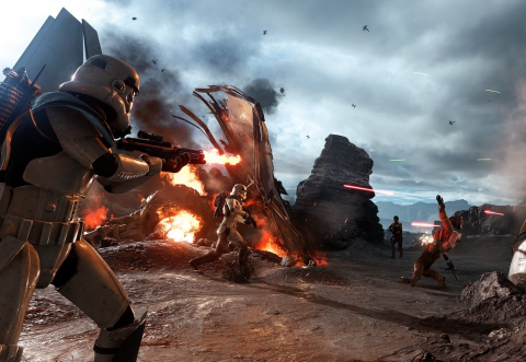 Jaquette de Star Wars : Battlefront - Le mode Drop Zone sur Sullust