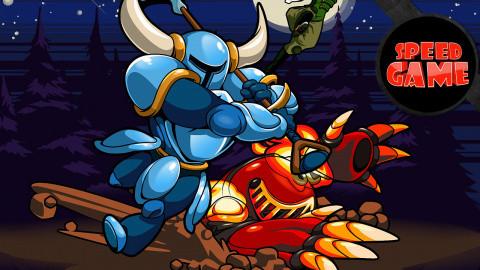 Speed Game - Du skill à la pelle sur Shovel Knight
