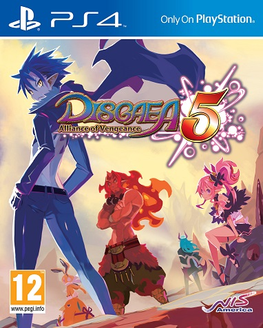 Disgaea 5 : Alliance of Vengeance sur PS4