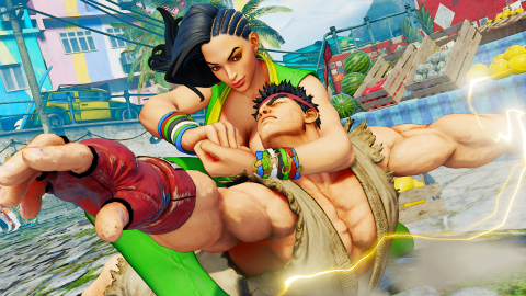 Jaquette de Laura de Street Fighter V s'illustre à nouveau