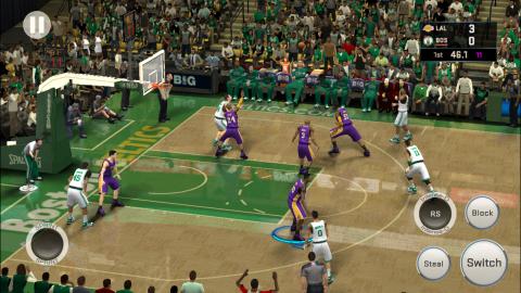 NBA 2K16 débarque sur mobiles