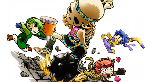 Jaquette de The Legend of Zelda : Tri Force Heroes – Le multi s'empare de la série sur 3DS