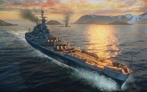 World of Warships - Batailles navales à la sauce Wargaming sur PC