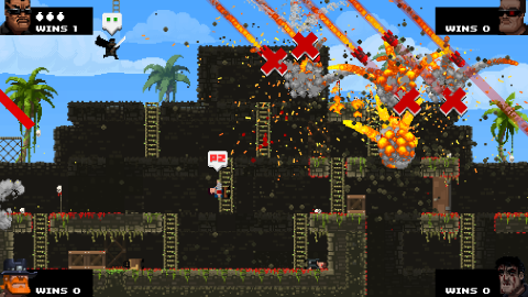 Jaquette de BroForce