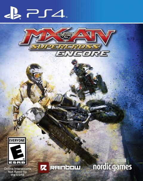 MX vs ATV Supercross Encore Edition sur PS4