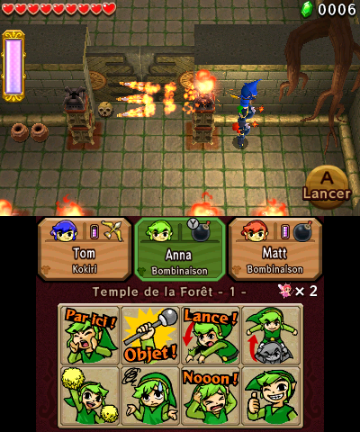 The Legend of Zelda : Tri Force Heroes – Le multi s'empare de la série