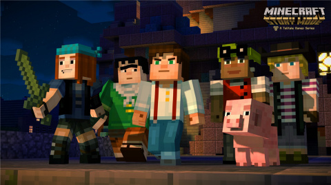 Minecraft : Story Mode sur PS4