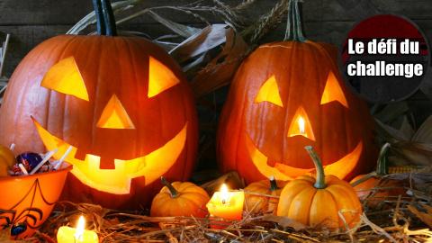 Le Défi du Challenge : Spécial Halloween