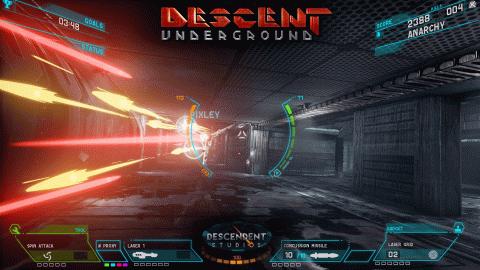 Descent : Underground paraîtra également sur PS4 et Xbox One