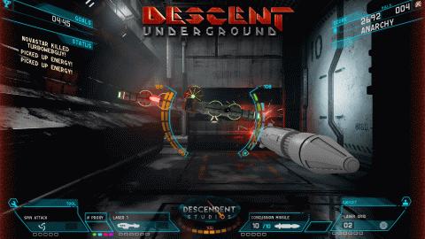 Descent revient également sur PS4, Xbox One, et Switch