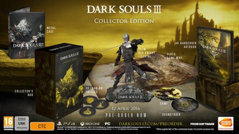 Dark Souls III : La date de sortie et le collector ont fuité